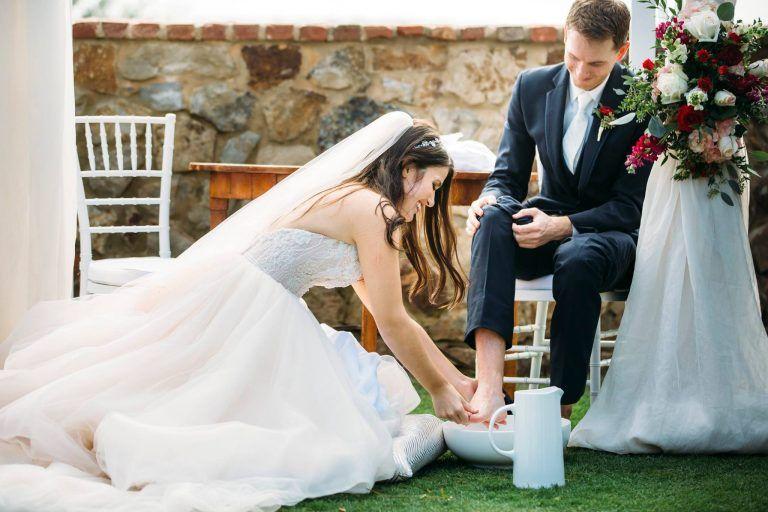 d3d3ddf9a86f Wedding foot washing Christian ceremony, Tickled Pink Weddings + Events -  Orlando Wedding Planner. Bella Collina wedding