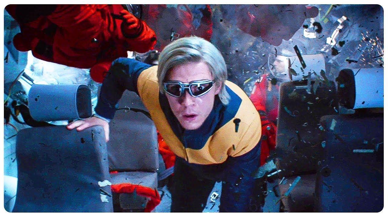 Quicksilver Saves Everyone From Solar Flare Scene X Men Dark Phoenix 2019 Movie Clip Hd Dark Phoenix Movie Clip X Men