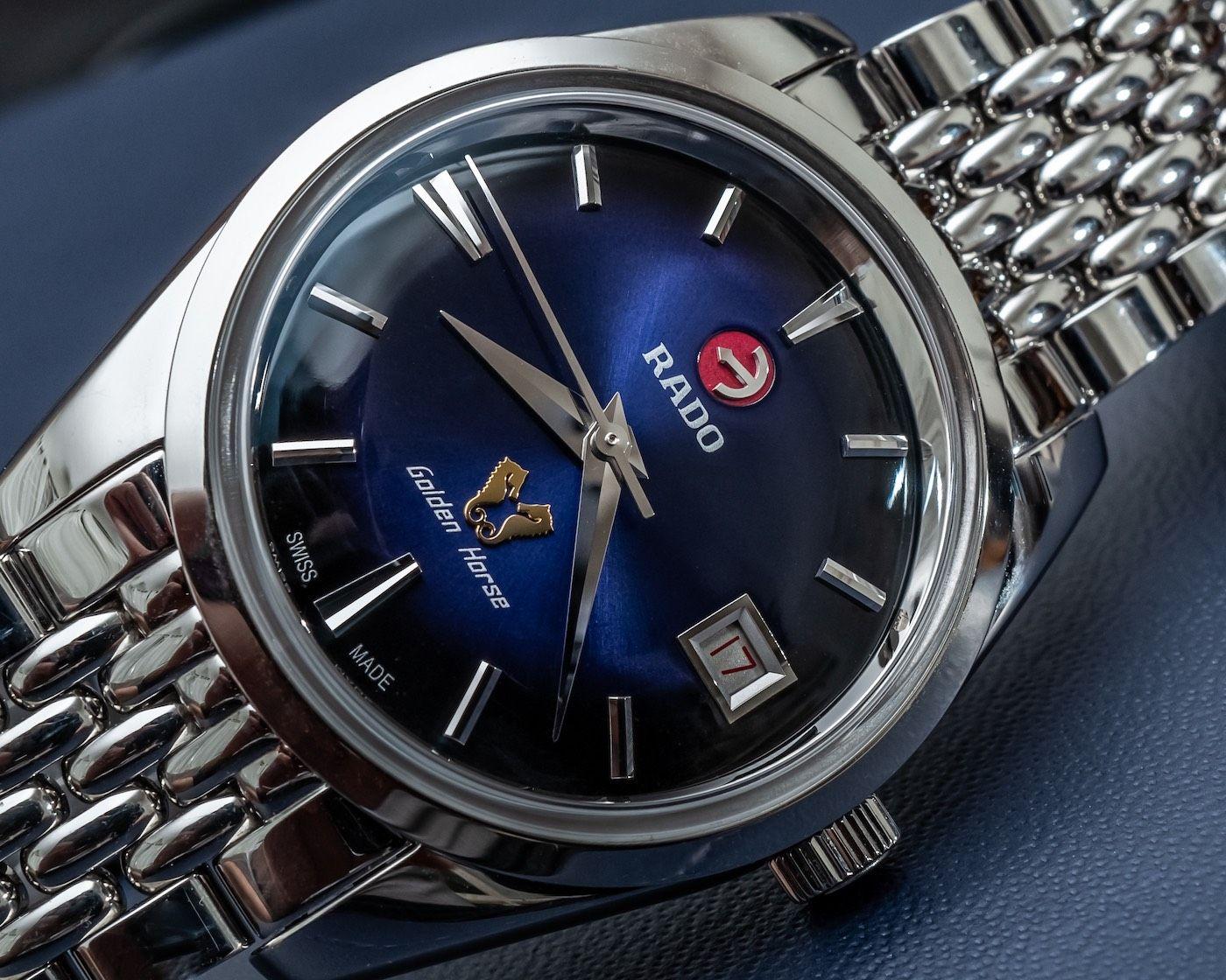 Hands On Rado Golden Horse 1957 Limited Edition Watch Ablogtowatch In 2020 Golden Horse Limited Edition Watches Rado