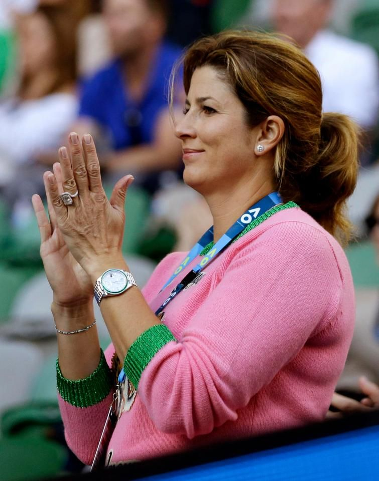 Watchspotting Forget Roger Federer S Rolex Batman His Wife