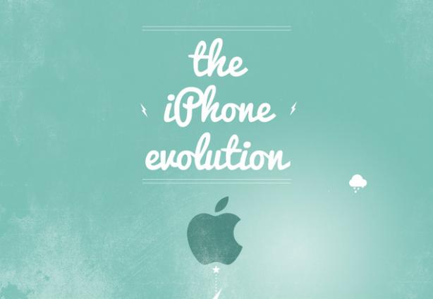 Dal 2G al 5s: un'infografica mostra l'evoluzione di iPhone negli anni
