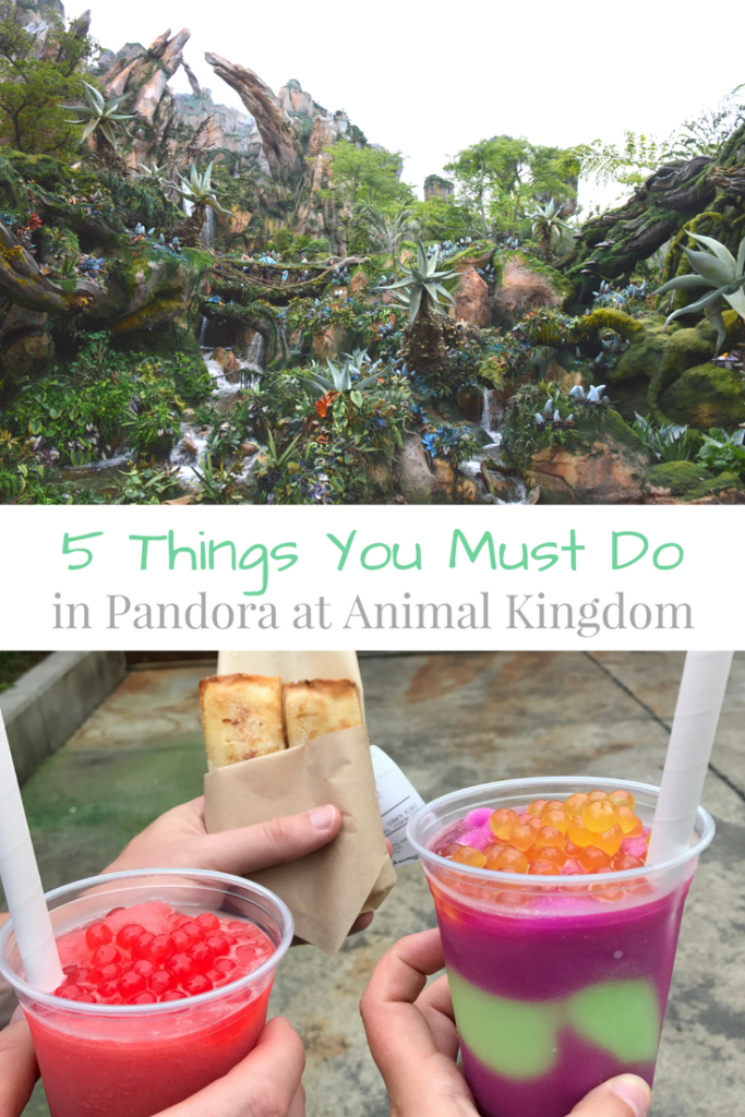 5 Things You Must Experience at the new Pandora land at Animal Kingdom, Walt Disney World; Avatar Flight of Passage and Na'vi River Journey