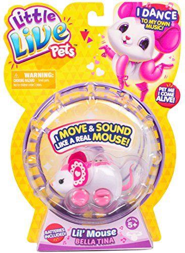Little Live Pets Mouse Bellatina Little Live Pets Https Www Amazon Com Dp B01copjxhy Ref Cm Sw R Pi Dp X Ob3eyb8sc0b S A Coleccion De Maquillaje Mascotas