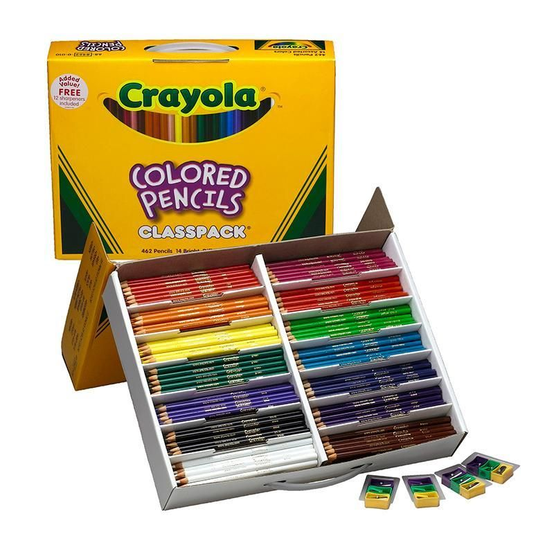 Crayola Colored Pencils 462 Ct Crayola Colored Pencils Colored