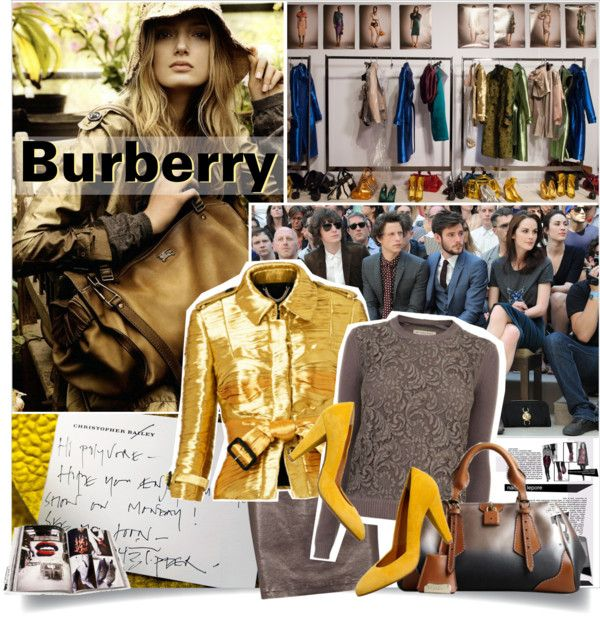 """""""Burberry SS13 Reveal"""" by maja15 on Polyvore"""