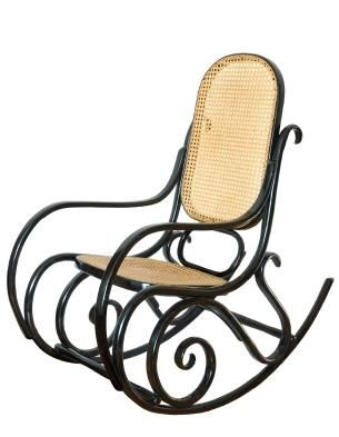 One style of antique rocking chair Bentwood Rocker was
