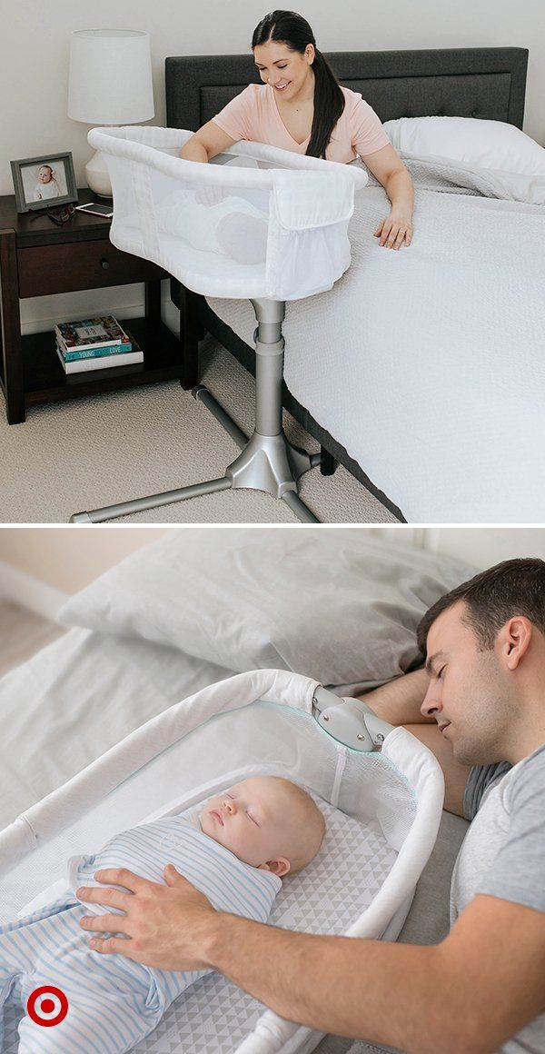 Keep Baby Close With Various Sleeping Options Like Bedside