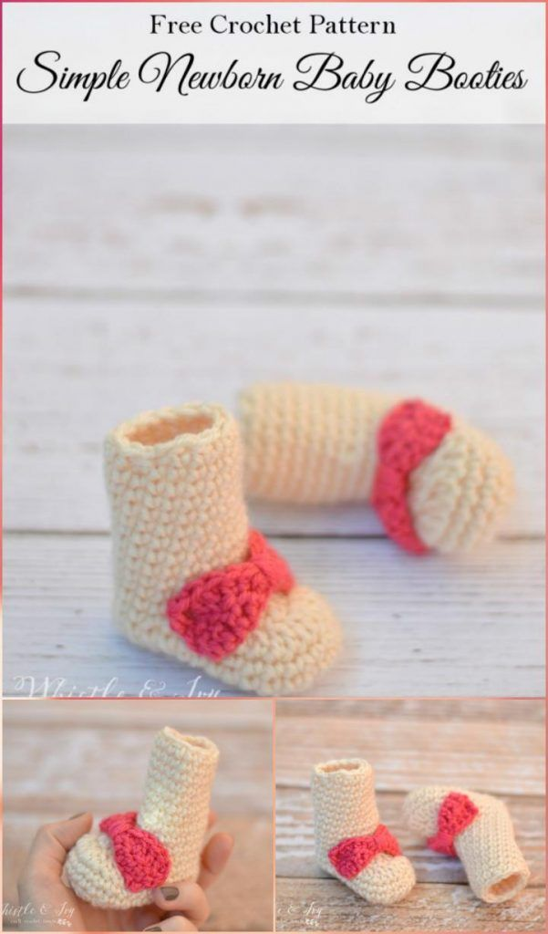 Crochet Baby Booties - Top 40 Free Crochet Patterns | Crochet Baby ...