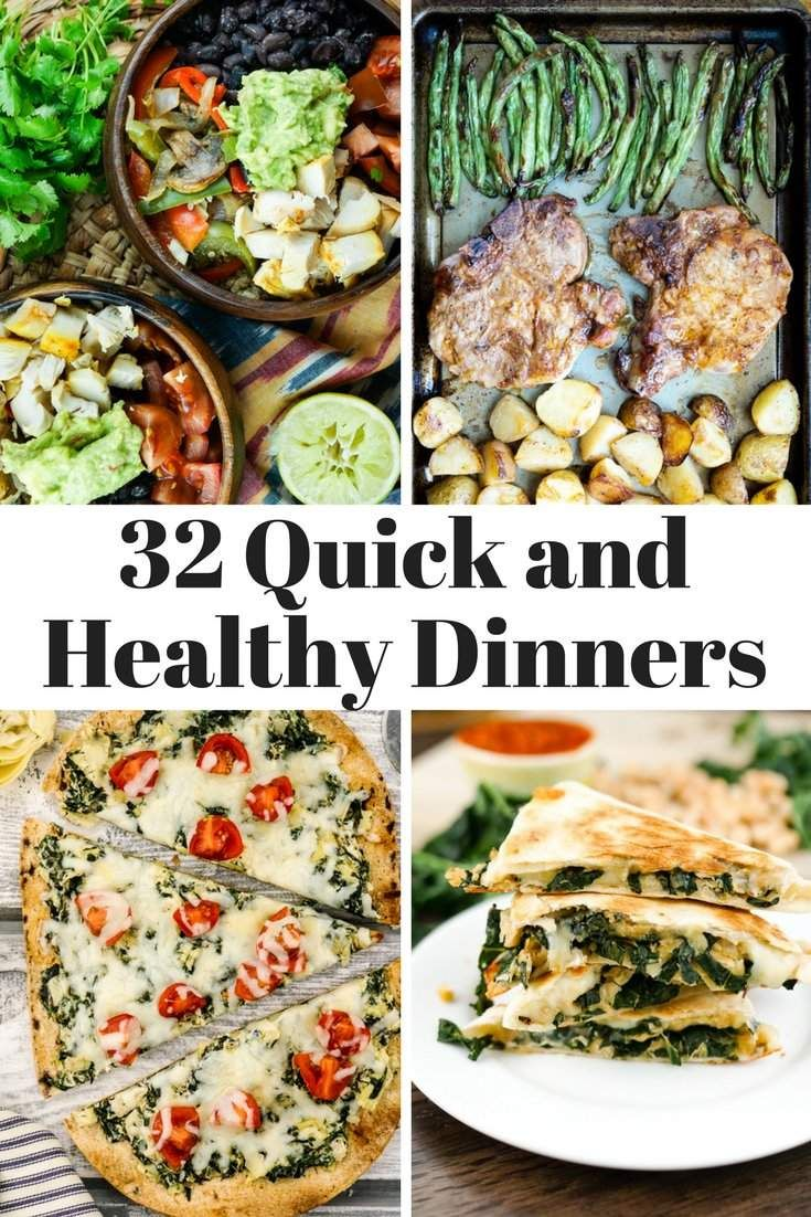 32 Quick and Healthy Dinners for Back to School images