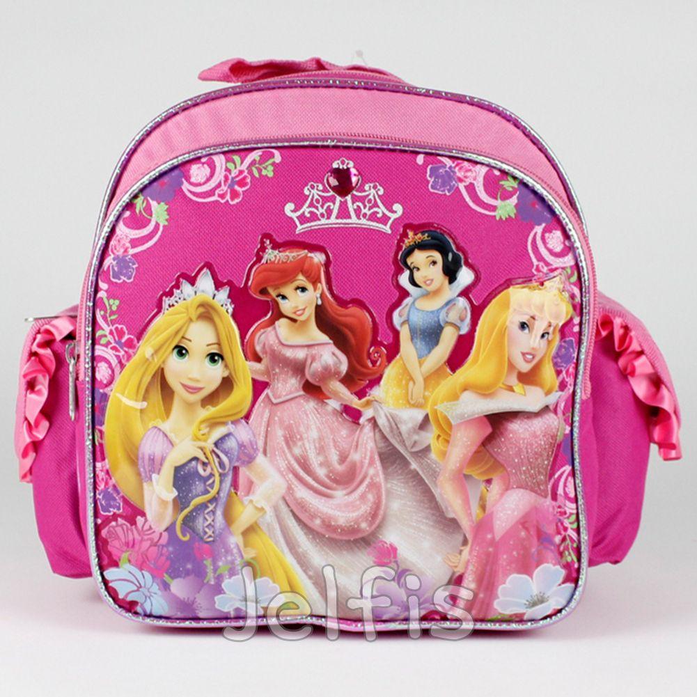 6a933a611c4 Jelfis.com - 10  Mini Disney The Princesses Backpack - Flower Princess Girls  Book