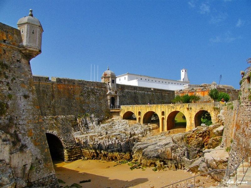 Front of the Fort of Peniche Peniche, Leiria