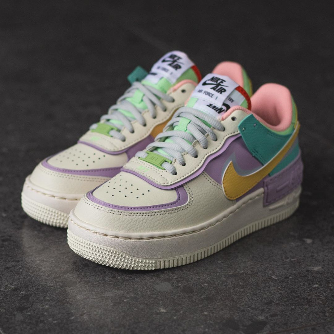 Air Force 1 Shadow Pale Ivory De In 2020 All Nike Shoes Nike Air Shoes Shoes