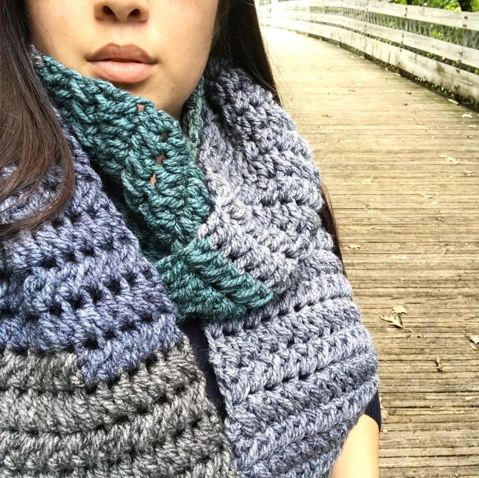 Lujoso Los Patrones De Crochet Libre Para La Bufanda Principiantes ...