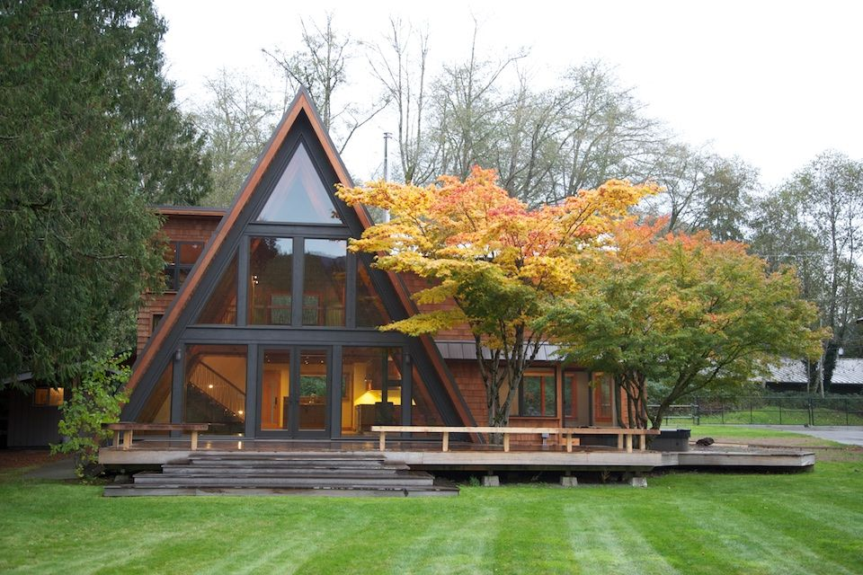 AFrame Remodel PeterStoner Architects Seattle Residential Best A Frame Remodel