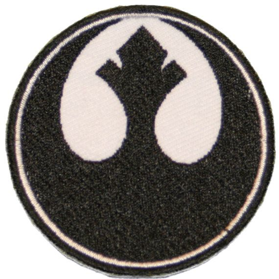 STAR WARS Patch Iron on Rebel Alliance by StarlitnightPatches