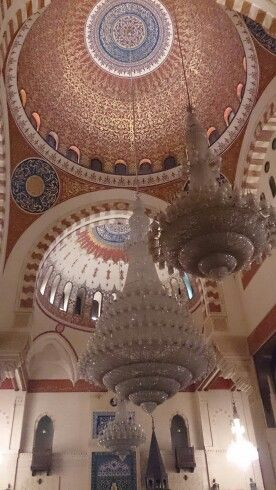 A mosque in Beirut
