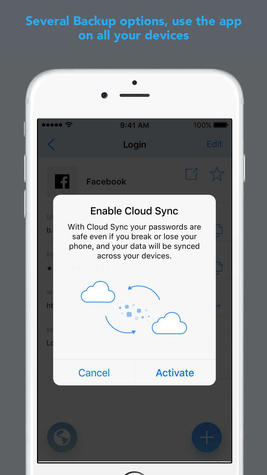 Password Secure Manager App ProductivityStudioios
