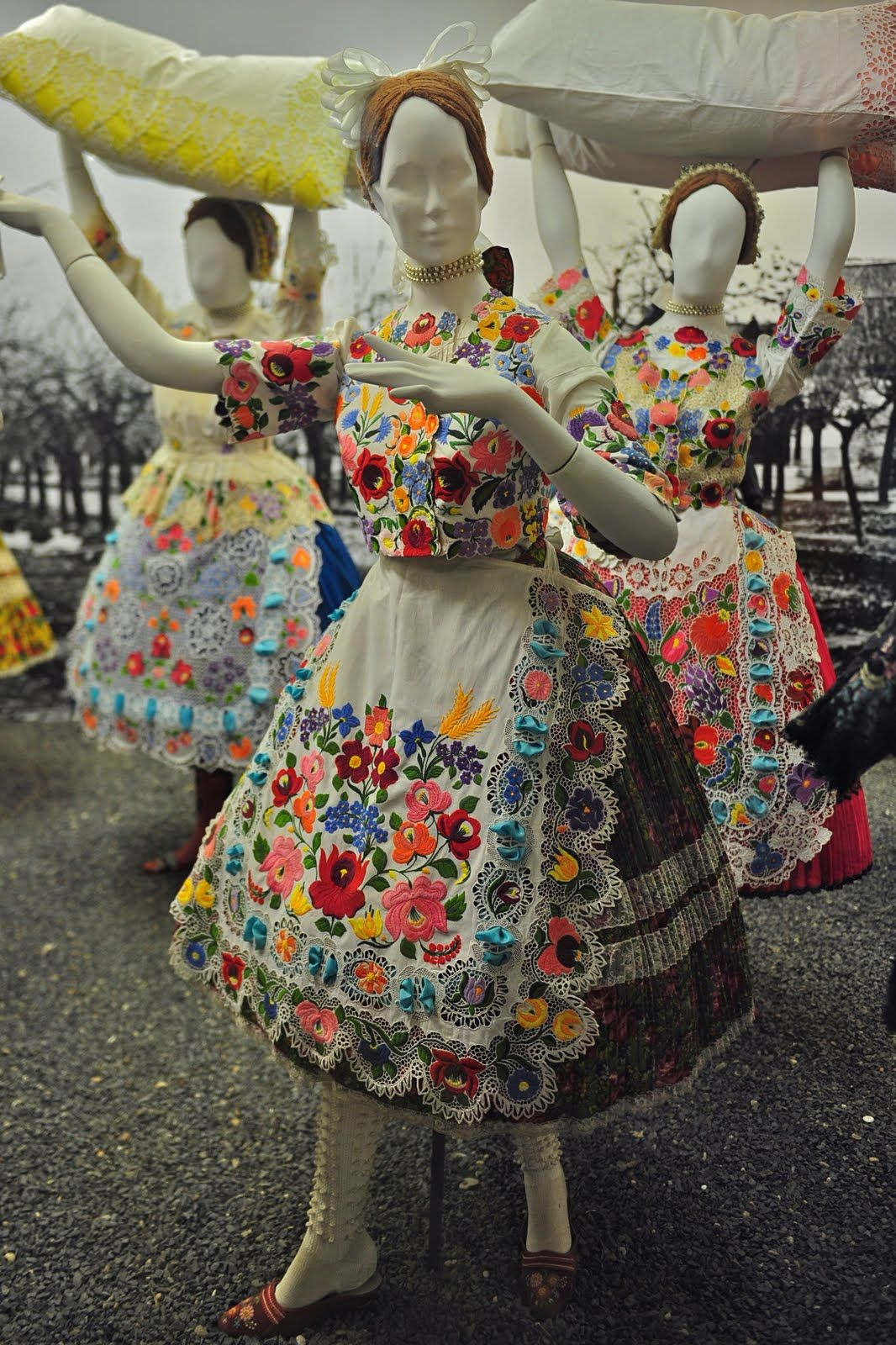 Merlin and Rebecca Blog: The folk art specific to Kalocsa is some of the  most famous in Hungary. The embroidered patterns are never repeated and  never ...