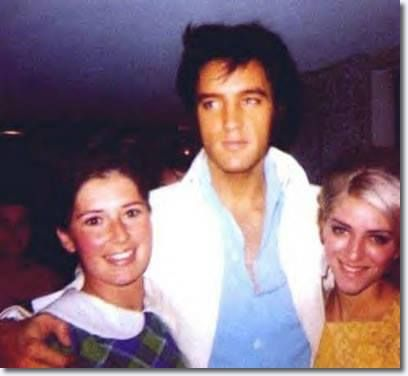 "International Hotel, Las Vegas, NV - August 1969 | ""All throughout his engagement Elvis would not only be seen on the stage – he had a habit of roaming the halls of the International Hotel at any hour of the day meeting fans as well as other celebrities that visited the hotel, letting them take his picture and have a chat with them. It was a great way to connect with the people who came to see him, sometimes from the other side of the world.""…"