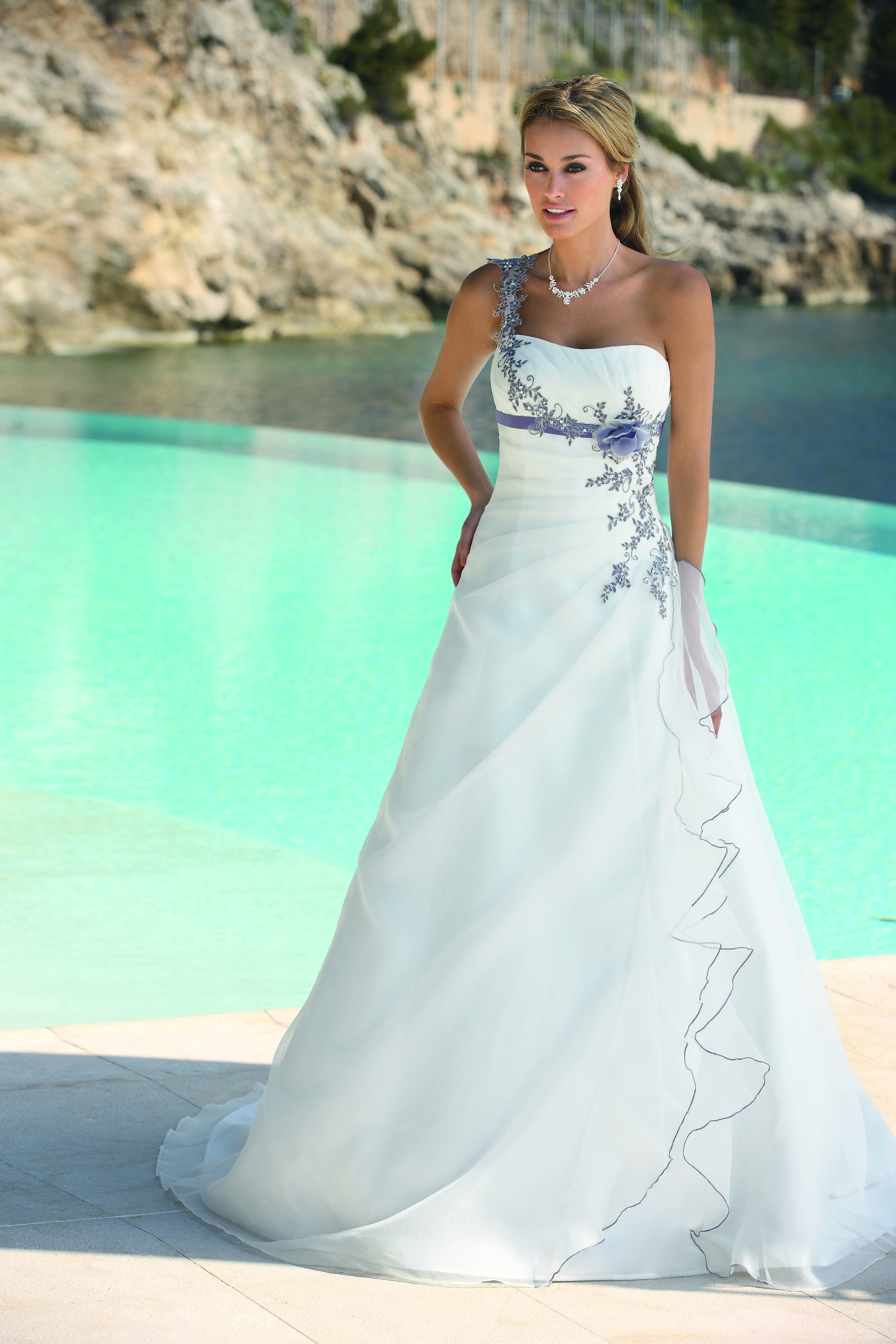 Ladybird Wedding Dress Style 33046 Ivory-Dark Purple-Silver | Closet ...