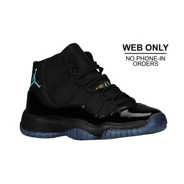 new product 63341 7bdb3 Jordan Retro 11 Boys' Grade School ($130) ❤ liked on ...