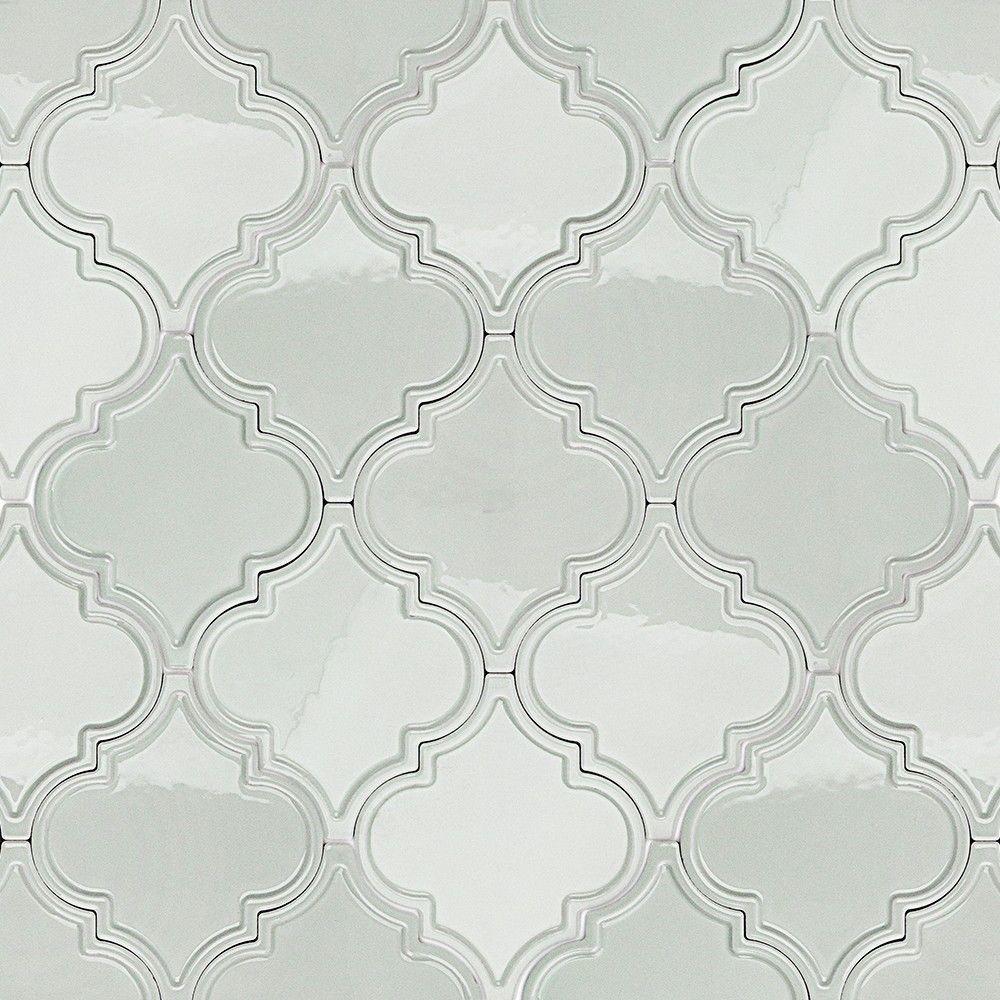 Ivy Hill Tile Vintage Lantern Light Blue Ceramic Mosaic Floor And Wall Tile 0 31 In X 0 31 In Tile Sample Ext3rd104155 Arabesque Tile Ceramic Wall Tiles Mosaic Flooring