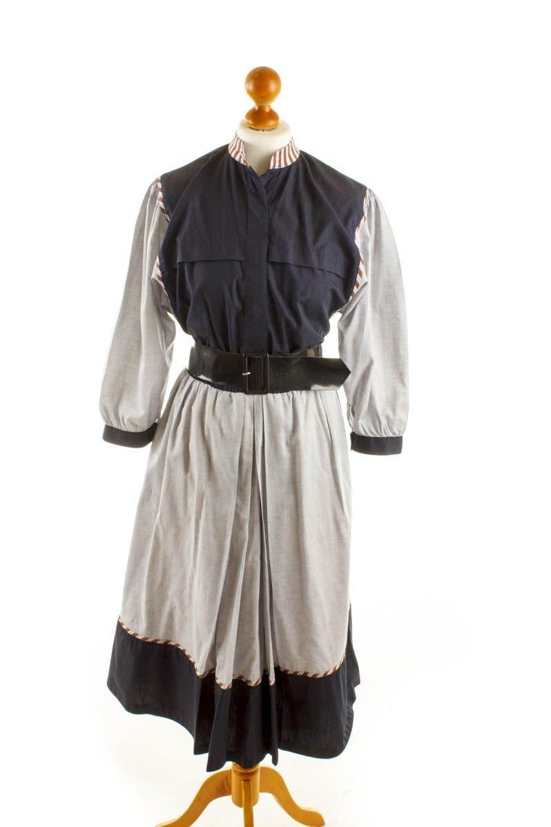 Vintage orig 80er Baumwolle Kleid Boho Folkster S M | eBay | vintage ...