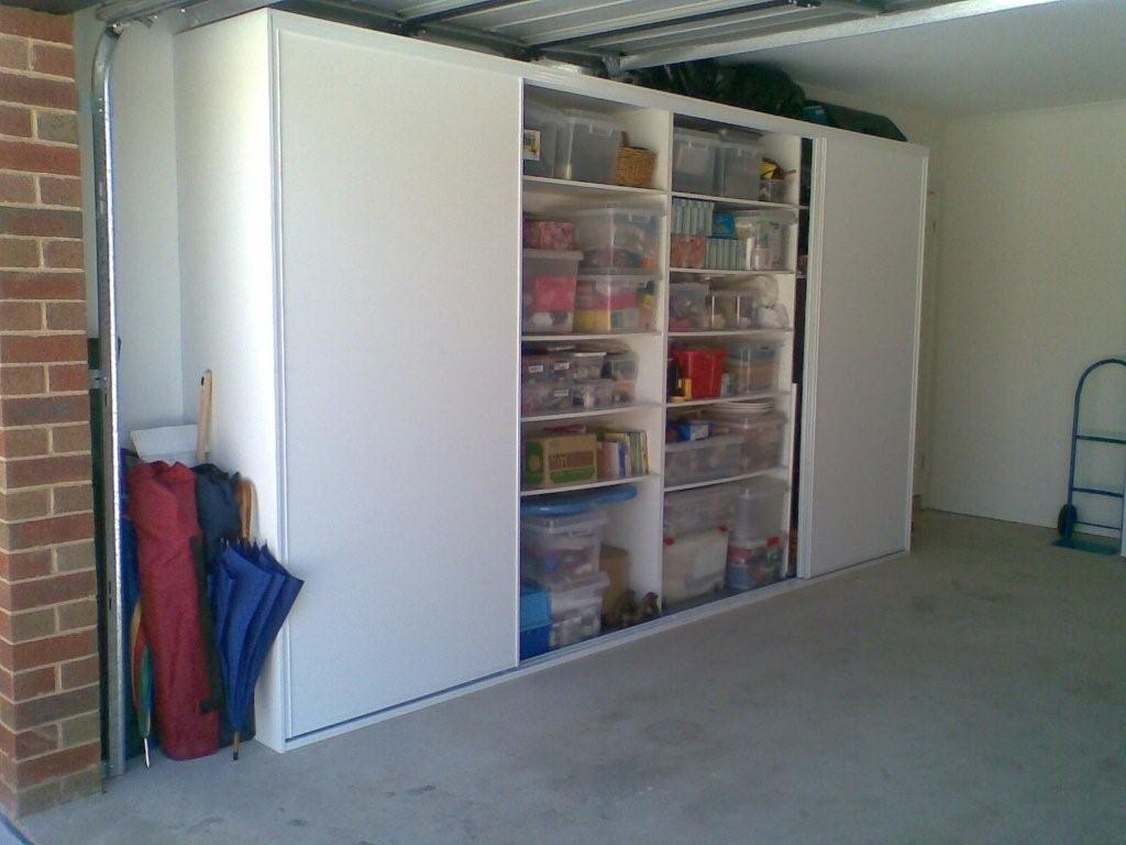 Garage Storage Doors Open Garage Storage Cabinets Basement