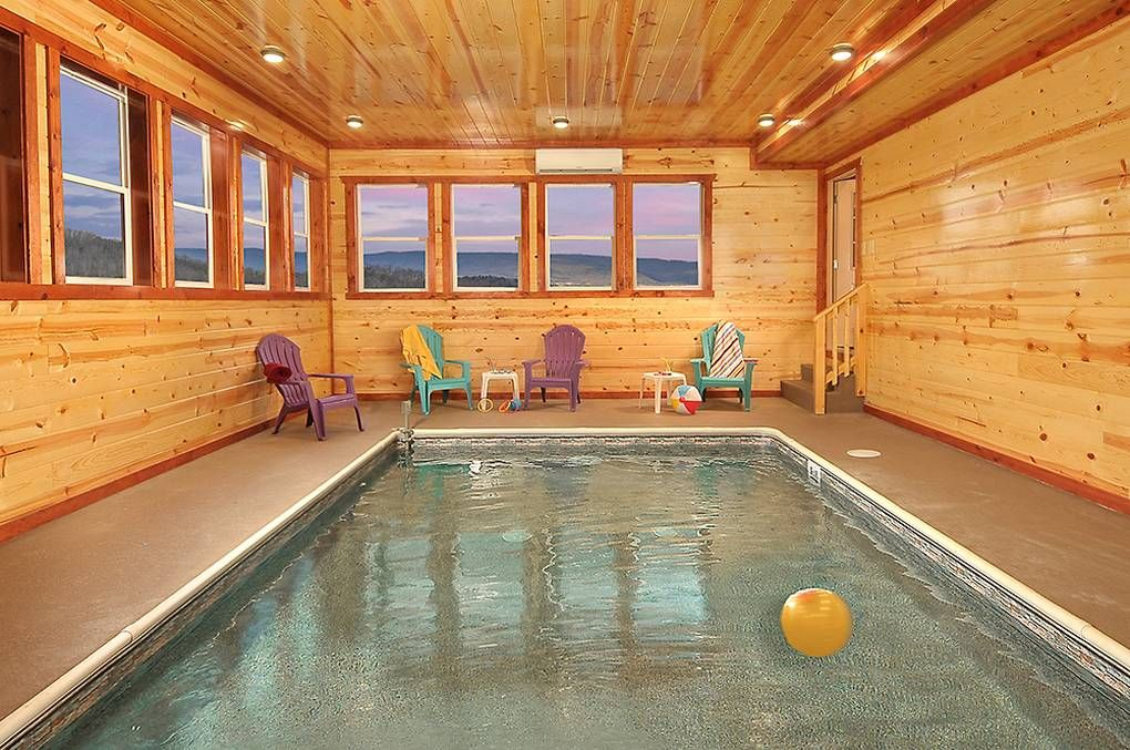 Cabin Rentals With Indoor Pools In Pigeon Forge Gatlinburg And Smoky Mountains Gatlinburg Cabin Rentals Cabin Rentals Pigeon Forge Cabins