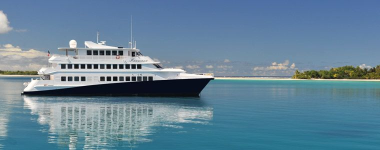 Haumana Catamaran Cruises In Rangiroa Tahiti Venture Deep Into - Cruise to tahiti