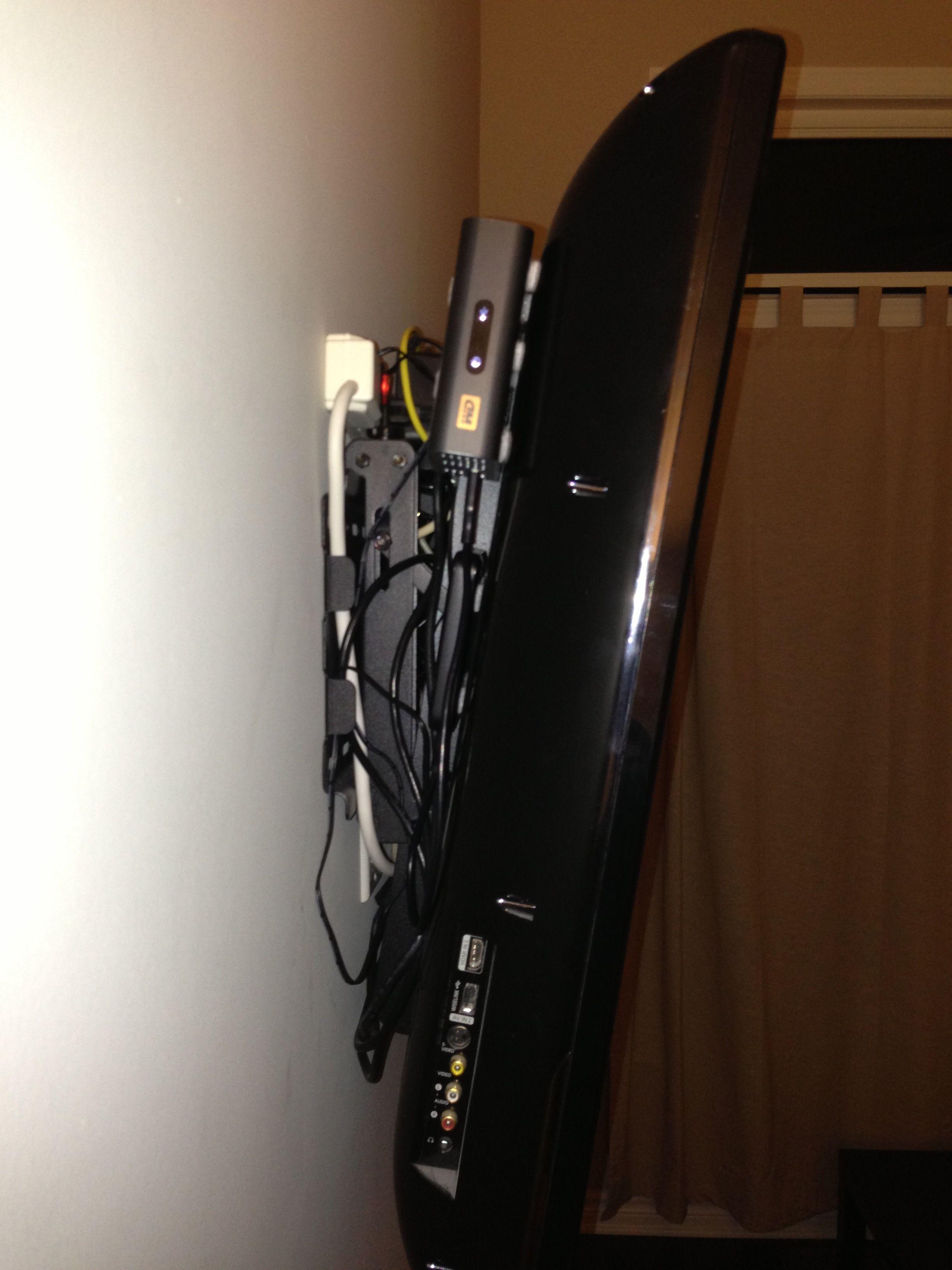 Resultado De Imagen Wall Mount Tv With Cable Box Diseños