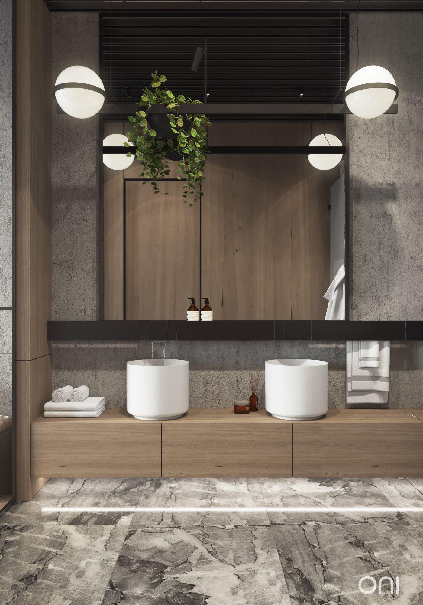 10 Gorgeous And Modern Powder Room Design Ideas Small Elegant Tiny Farmhouse Onbudget Industrial Style Bathroom Bathroom Styling Industrial Bathroom Decor