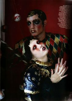 """Russian Dolls"" Karlie Kloss in Vogue UK October 2010 by Tim Walker"