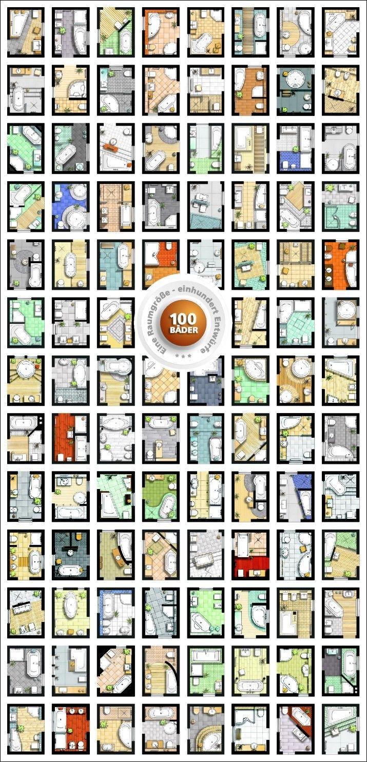 100 Bader Badezimmer Bad Grundriss Kleines Bad Grundriss