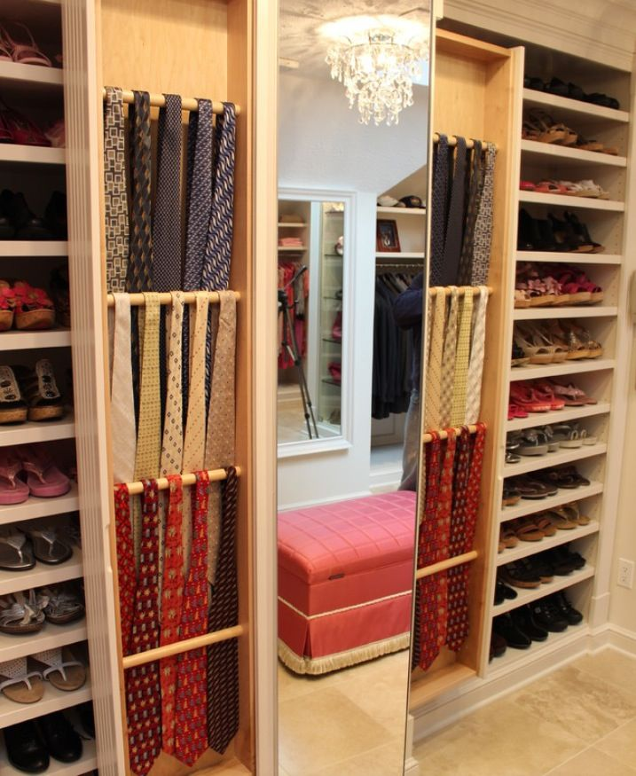 tie organization pinterest begehbarer kleiderschrank begehbar und kleiderschr nke. Black Bedroom Furniture Sets. Home Design Ideas