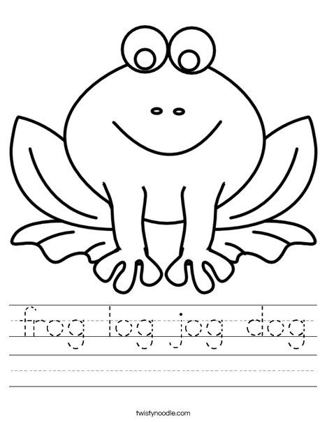 34+ F is for frog coloring page info