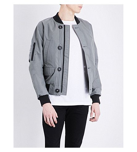 CANADA GOOSE Faber Shell Bomber Jacket.  canadagoose  cloth  coats   jackets 4c58bc8f91c