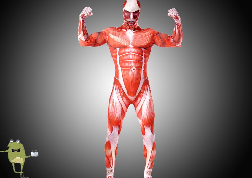 Attack On Titan Colossal Titan Cosplay Body Suit Costume Thumbnail