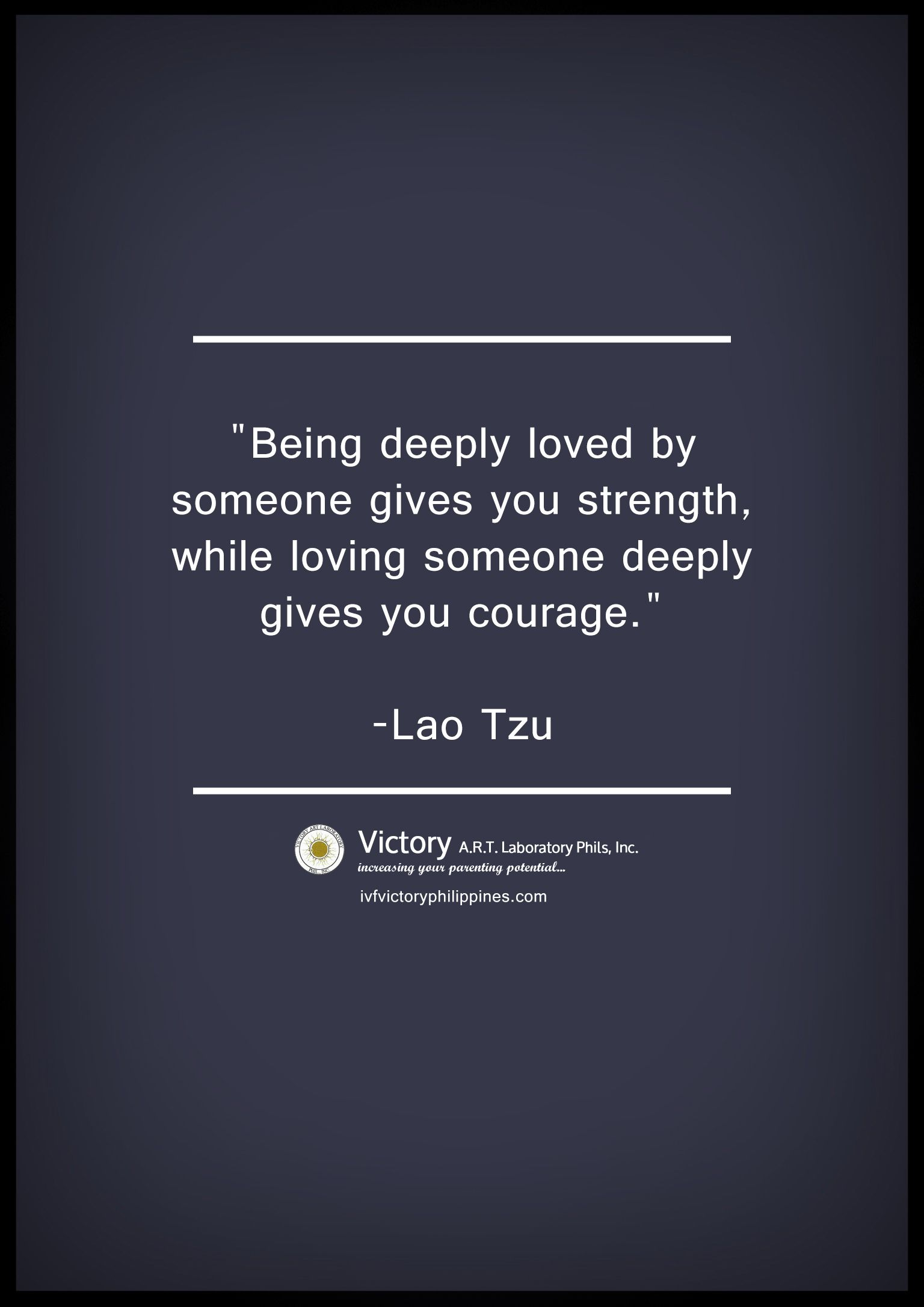 Infertility Quotes Being Lovedsomeone Gives Us Strengthivf Infertility