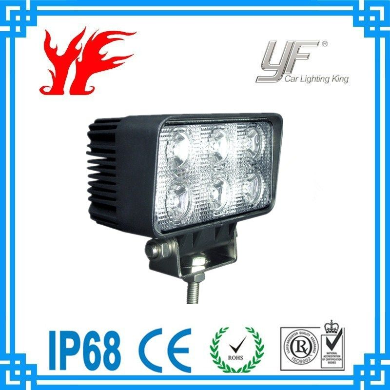 Yf 1518 18w High Intensity Led Work Light Ip67 Waterproof Rate Usd13 3 15 Pc Freely Contact Anytime Yf12 Yufengltd Com Led Work Light Cree Led Work Lights