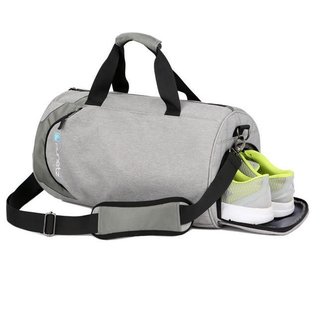1b919411ae5a Men Gym Yoga Bag For Training Waterproof Fitness Women Outdoor Sports Bag  Shoulder Travel Bags With Shoes Storage Duffel XA263WA