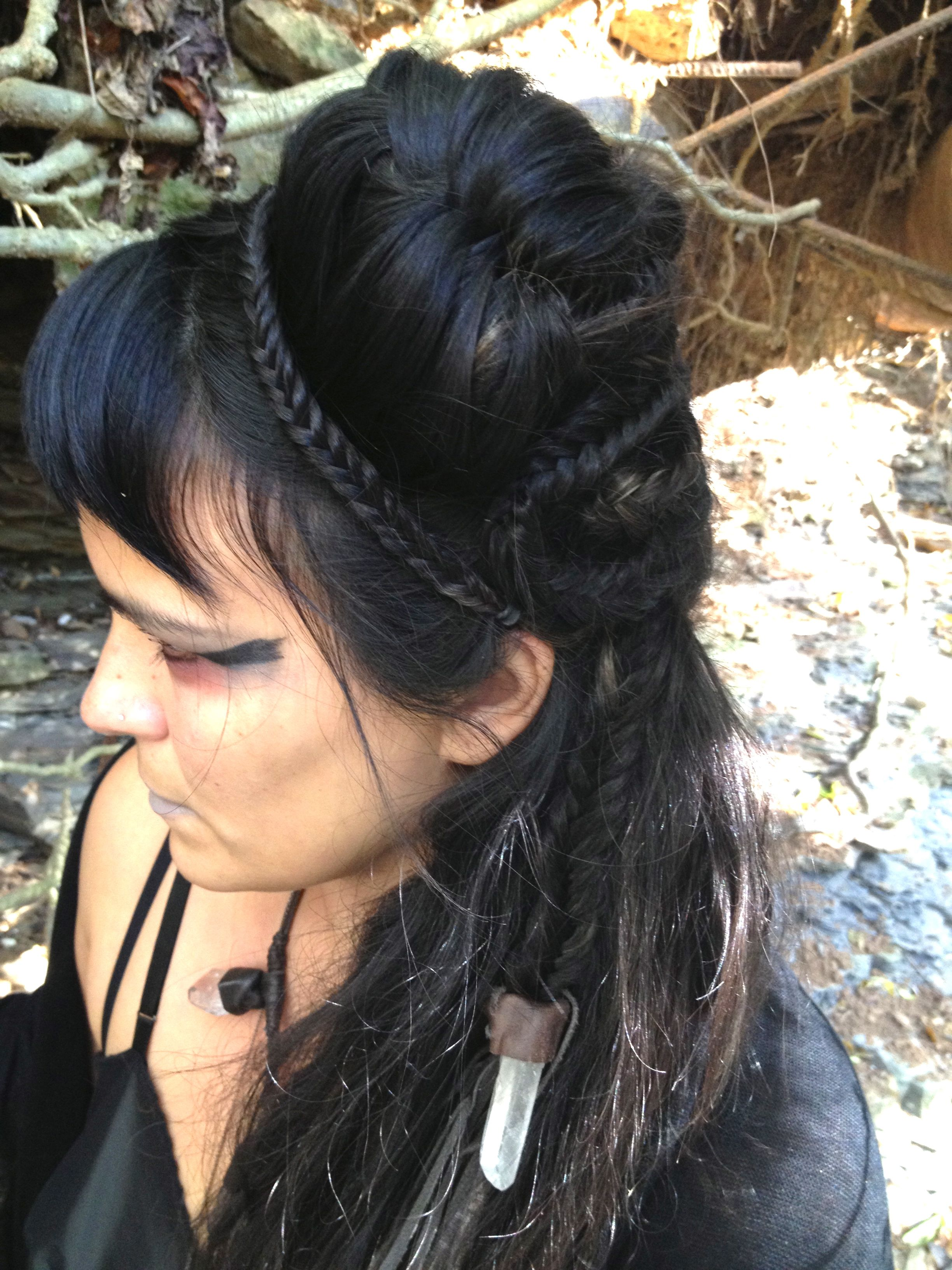 Witch Hairstyles Witch Hairstyles  Witch 2  Hair  Pinterest  Witches Hair Girls