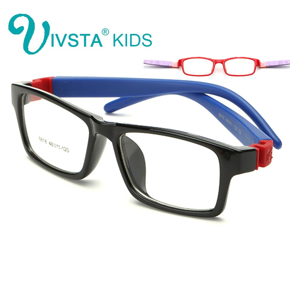 cfe98192fda IVSTA 8818 Unbreakable Optical Glasses frame Kids Eyewear Boys eyeglass  frames TR optical eyeglasses prescription No Screw