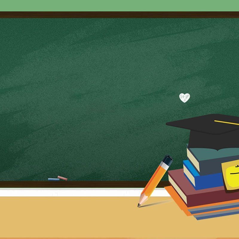 Texture Cartoon Education Blackboard Background Material Ilustrasi Pendidikan Papan Tulis Kapur Papan Tulis