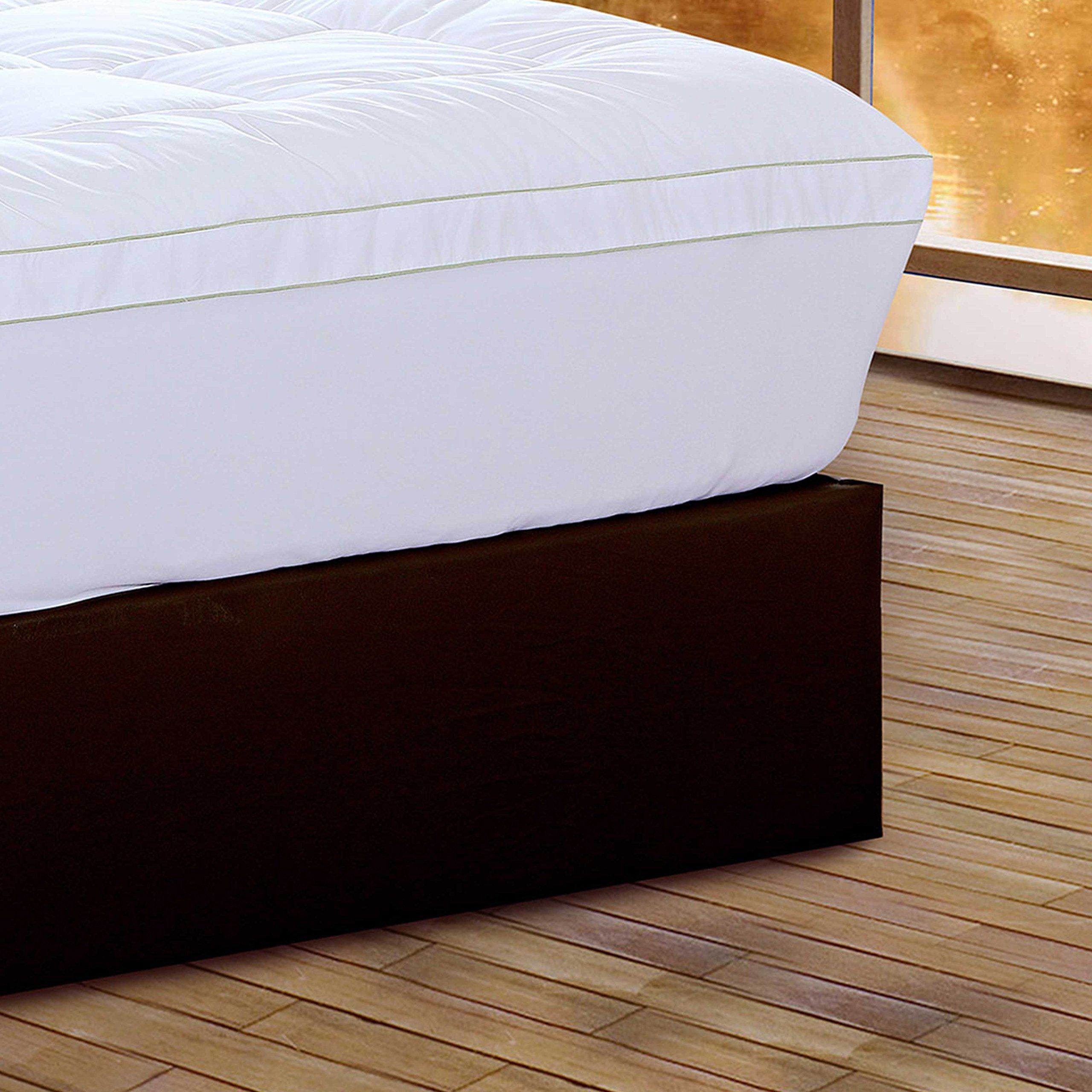 HomeRoots Beddings Square Quilted Accent Piping Mattress