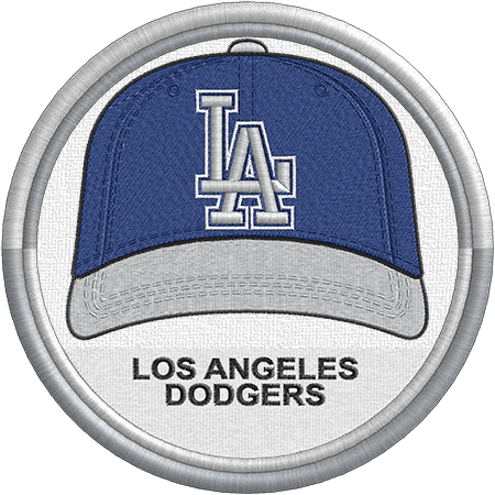 cfcd5a8e7b4 Los Angeles Dodgers cap logo. National League