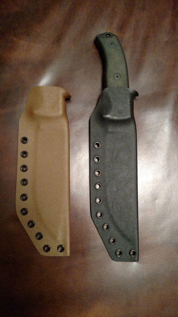 Custom Kydex Sheath for Your Knife or by SurvivalSheathSystem
