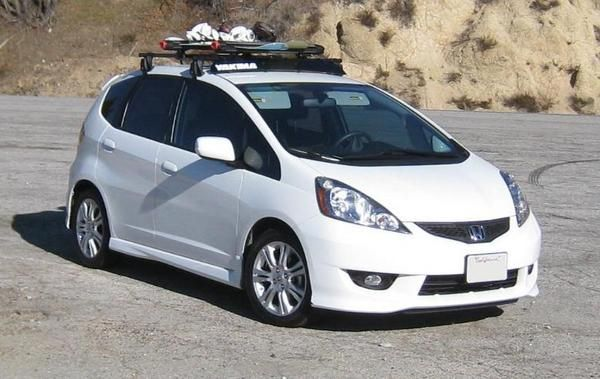 Yakima Roof Rack With Snowboards For The Honda Fit Rachel Turner