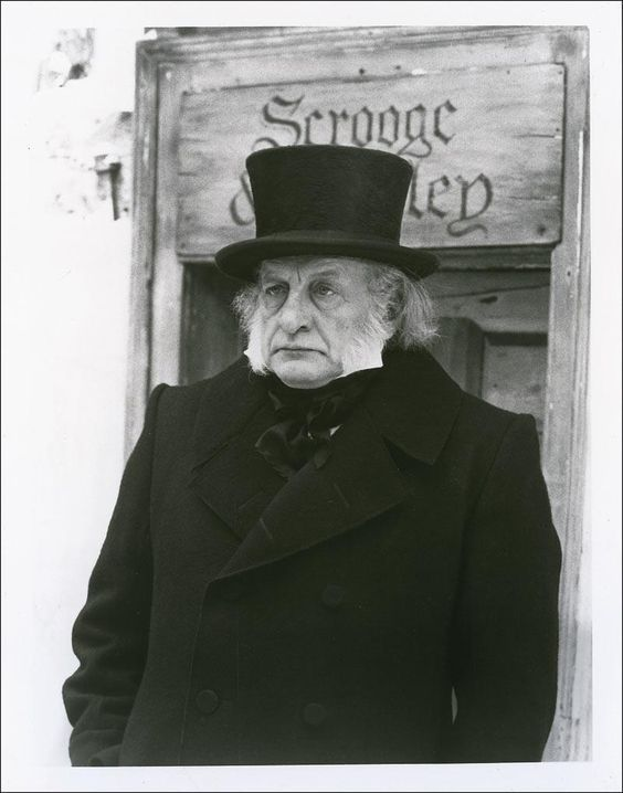 The best version: A Christmas Carol with George C. Scott ~ | Christmas carol, A christmas story