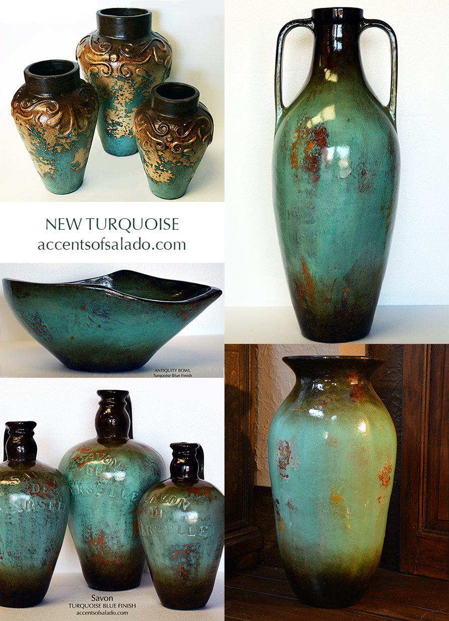 Photo of Tuscan Old World Vases Statues Urns Containers